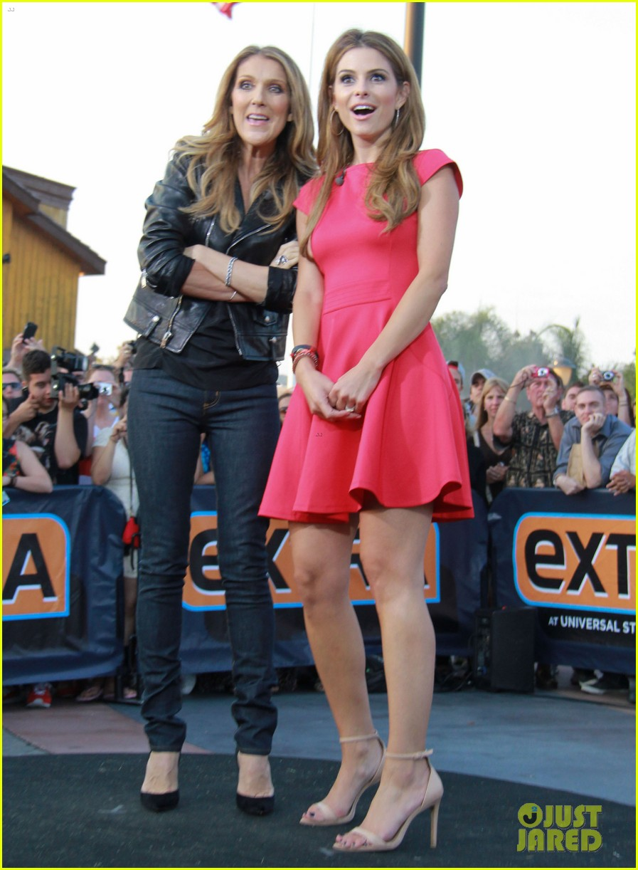 celine dion tapes extra appearance with maria menounos 122948981