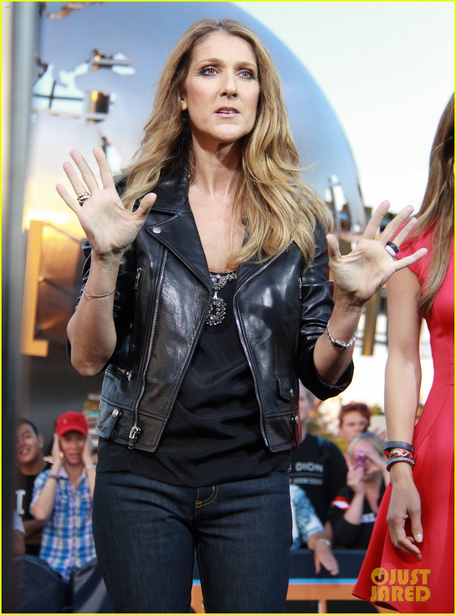 celine dion tapes extra appearance with maria menounos 152948984