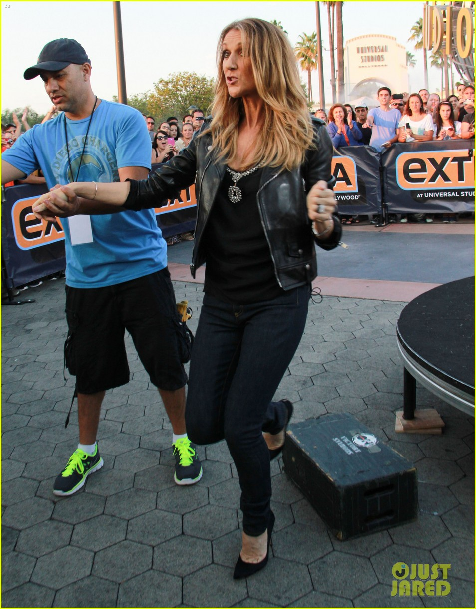 celine dion tapes extra appearance with maria menounos 192948988