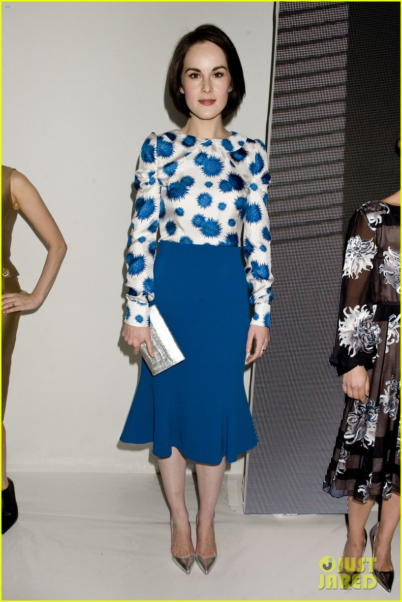 michelle dockery carolina herrera show 13