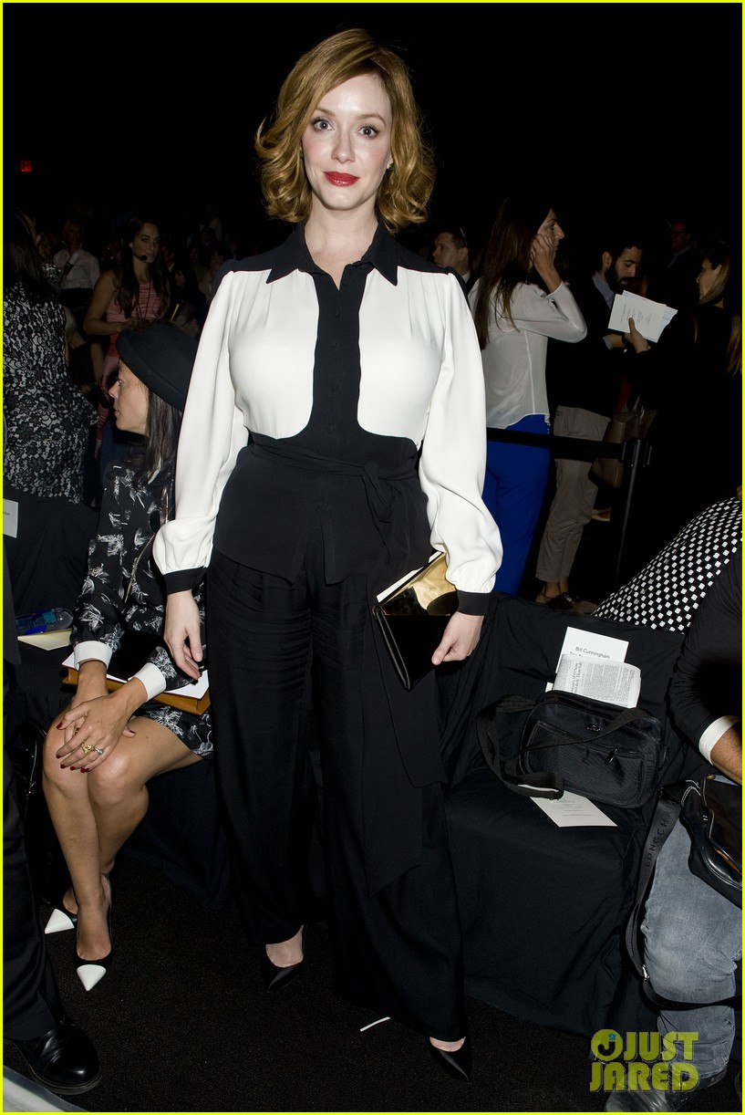 michelle dockery carolina herrera show 162949085