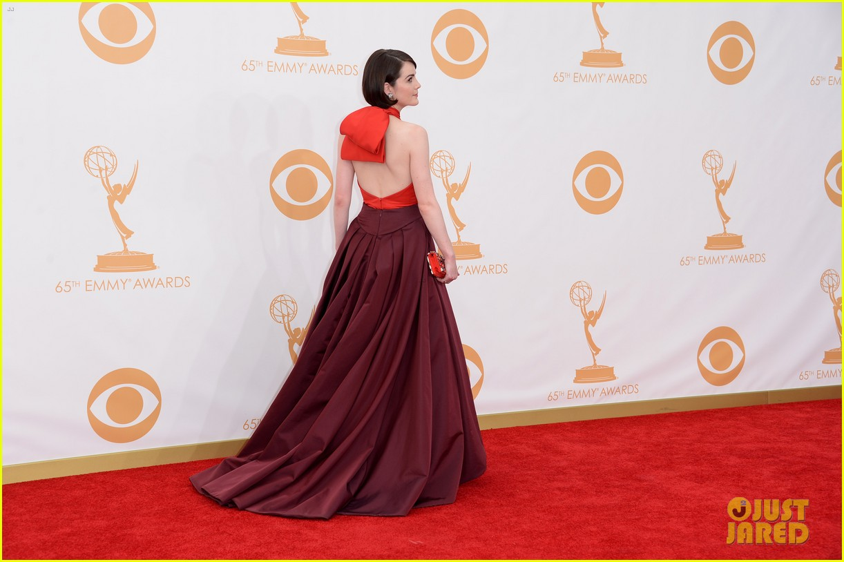 michelle dockery emmys 2013 red carpet 062958100