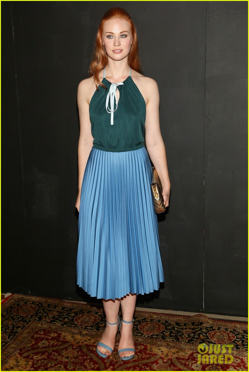 michelle dockery julianne hough marc jacobs fashion show 10