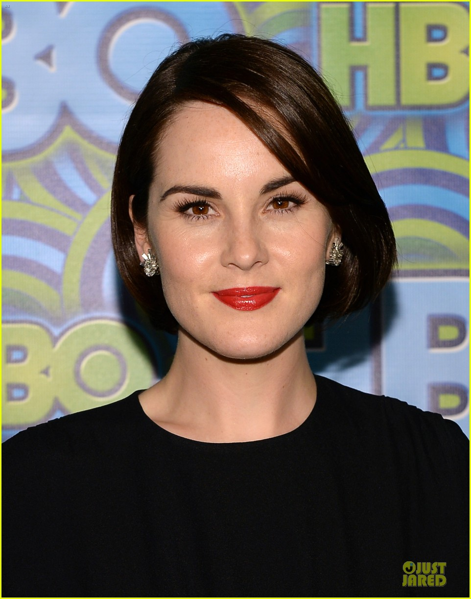 michelle dockery switches it up for hbo emmys after party 022958729