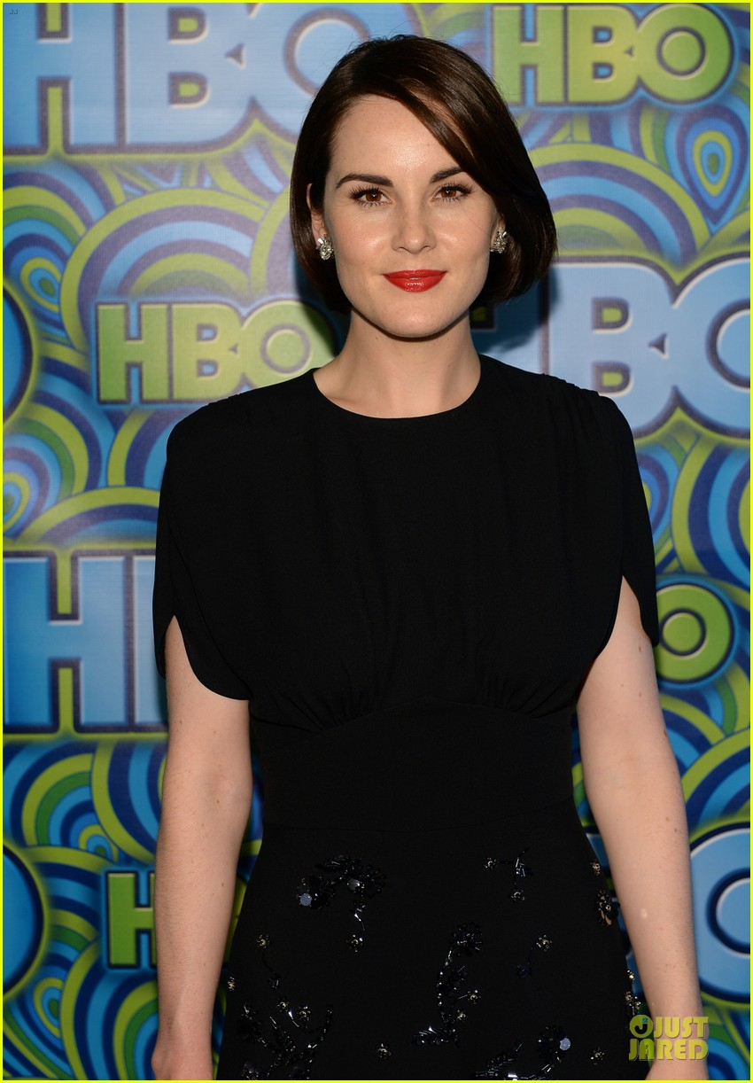 michelle dockery switches it up for hbo emmys after party 042958731