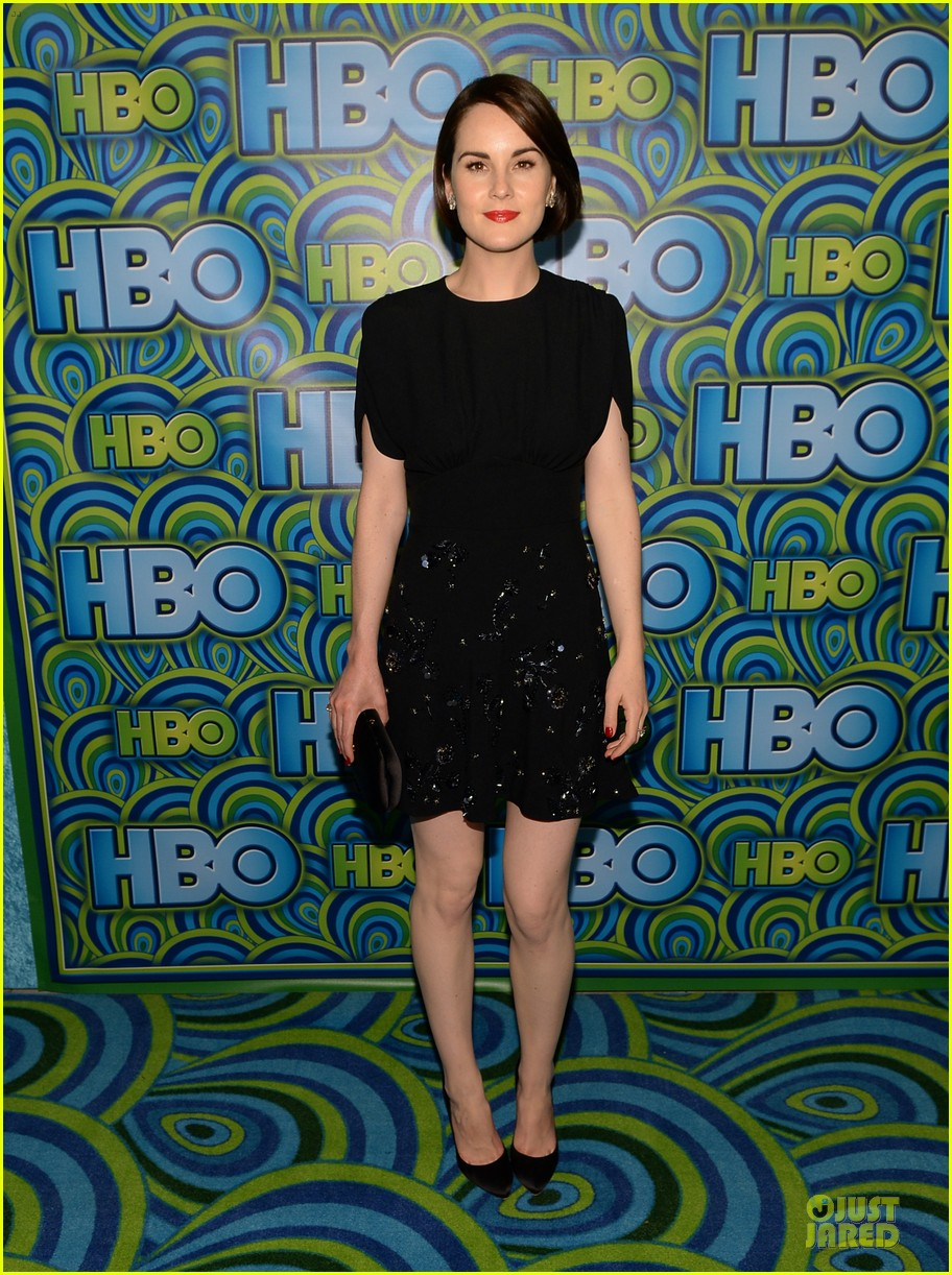 michelle dockery switches it up for hbo emmys after party 062958733