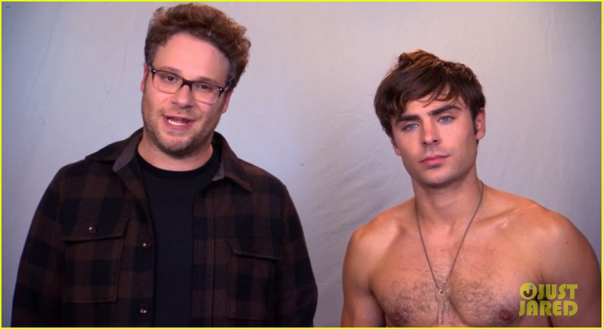 zac efron goes shirtless in neighbors tv spot watch now 012942722