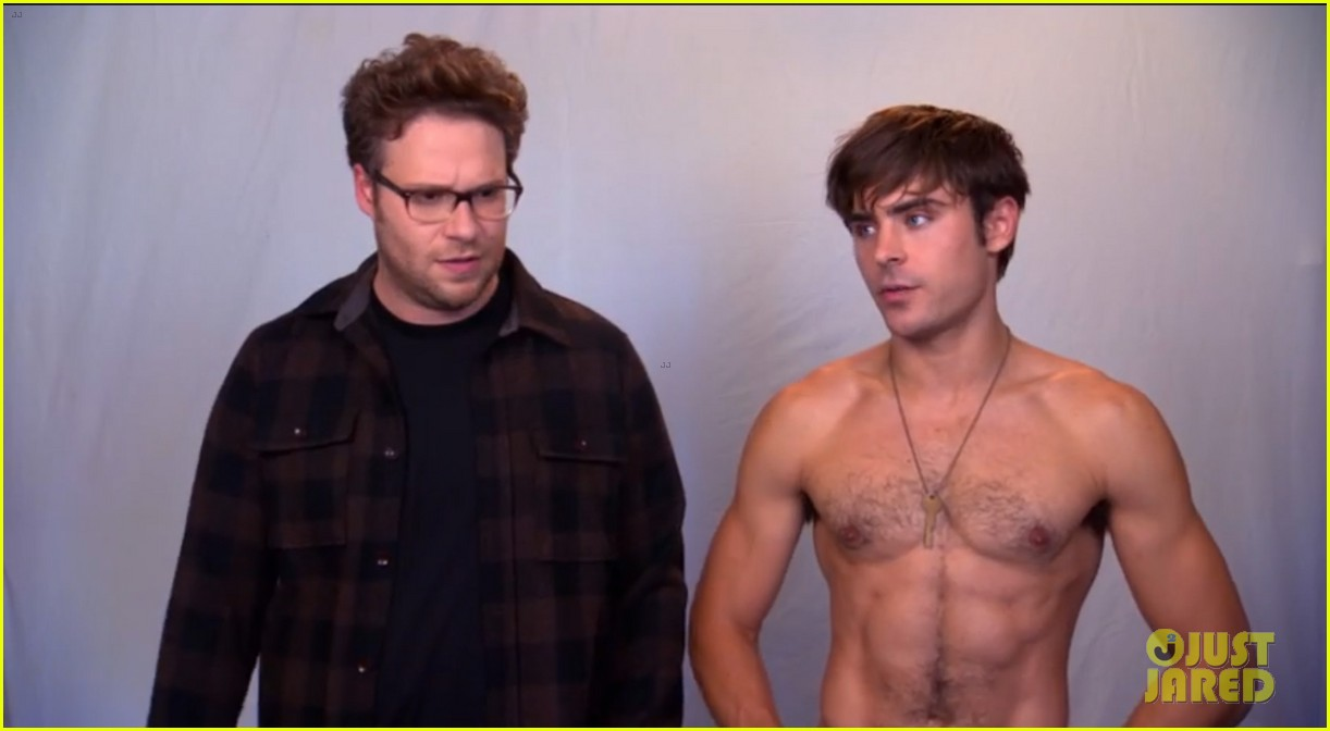 zac efron goes shirtless in neighbors tv spot watch now 022942723
