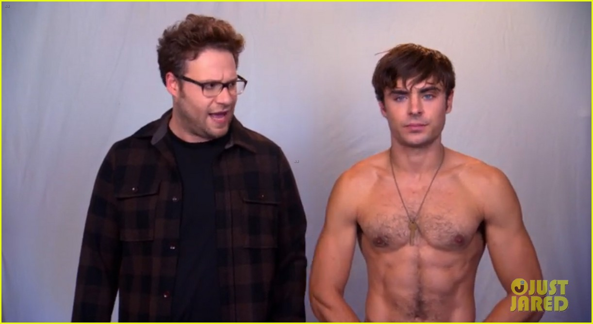 zac efron goes shirtless in neighbors tv spot watch now 042942725