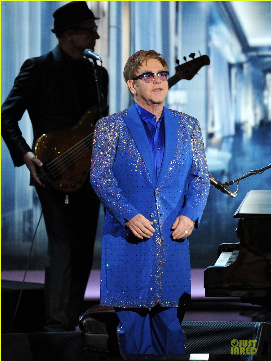 elton john emmys 2013 performance watch now 012958327