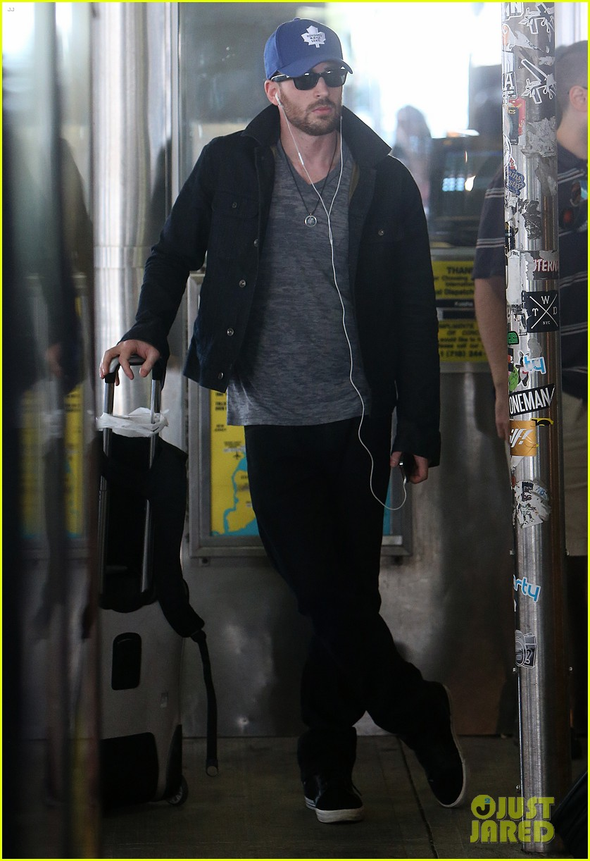 chris evans heads to new york city after disneyland date 042946690