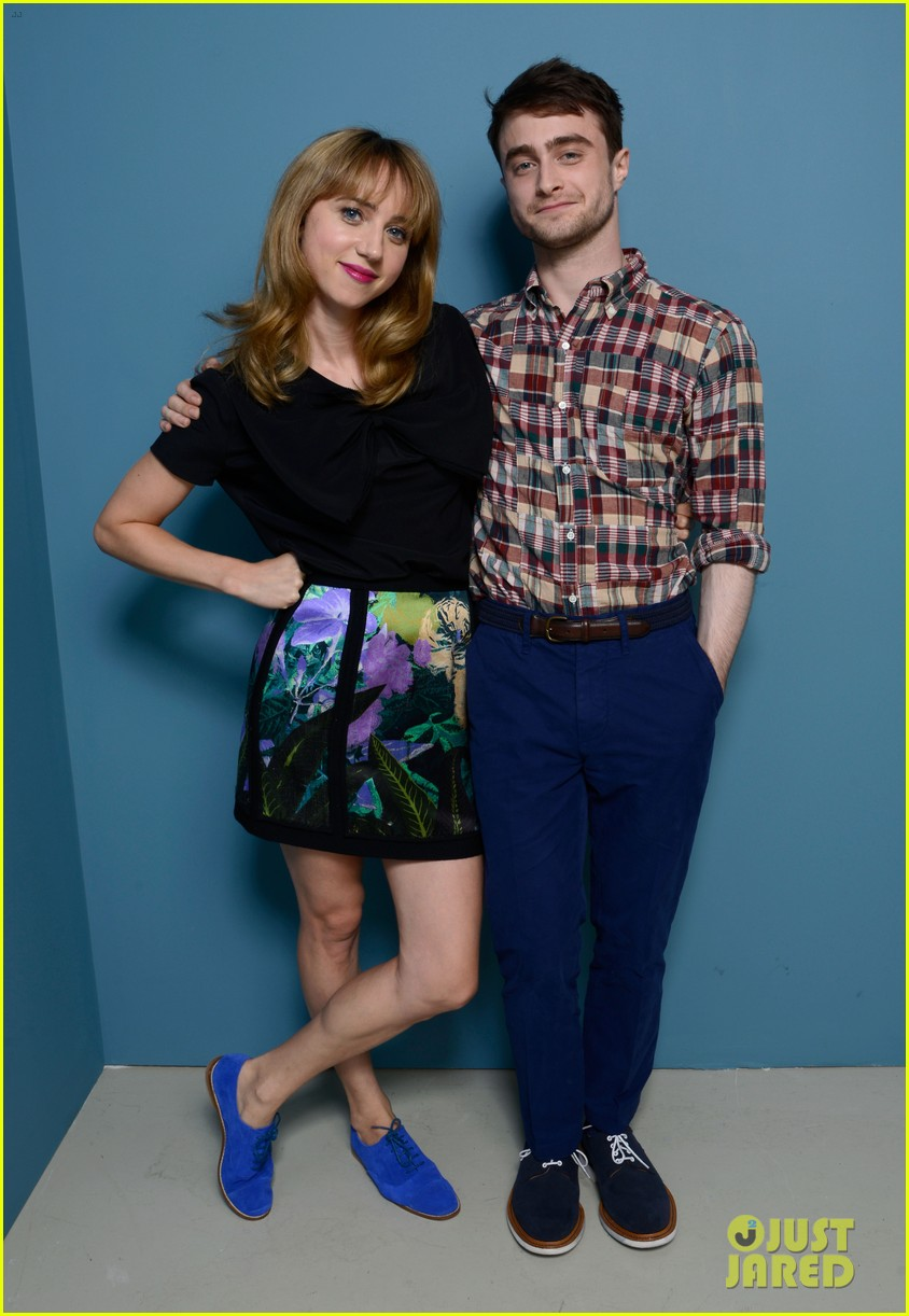daniel radcliffe zoe kazan the f word portraits panel tiff 022947186