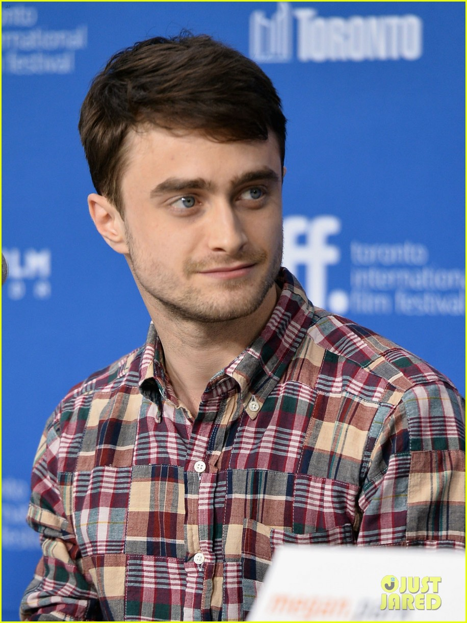 daniel radcliffe zoe kazan the f word portraits panel tiff 142947198