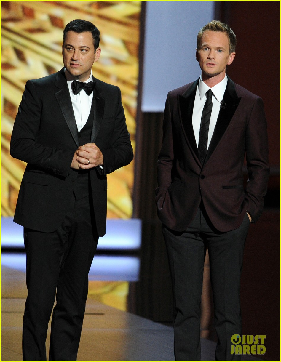 jimmy fallon seth meyers emmys 2013 with jimmy kimmel 052958415