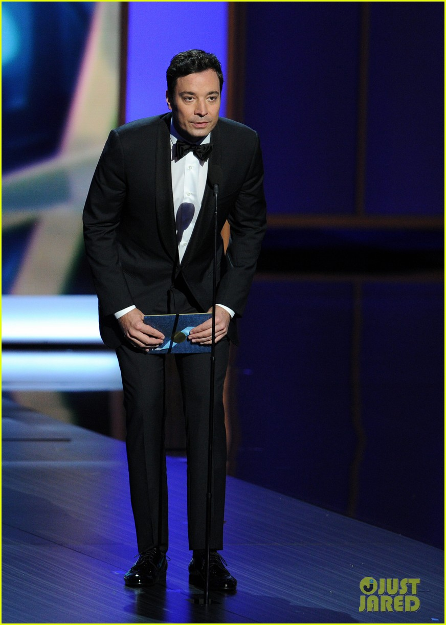 jimmy fallon seth meyers emmys 2013 with jimmy kimmel 11
