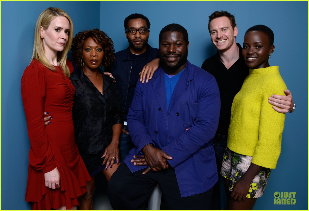 michael fassbender chiwetel ejiofor 12 years a slave tiff portraits 242946106
