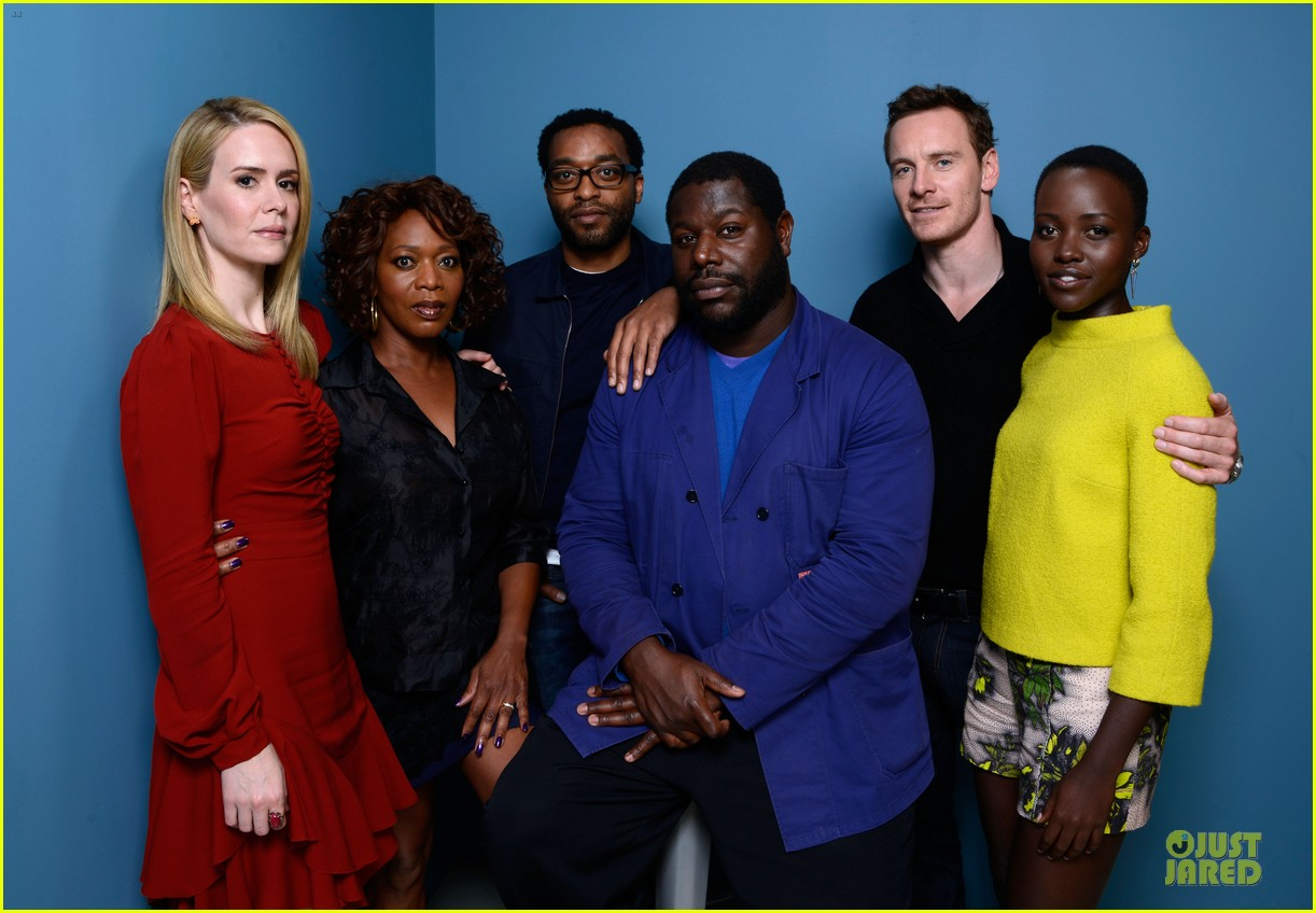 michael fassbender chiwetel ejiofor 12 years a slave tiff portraits 282946110