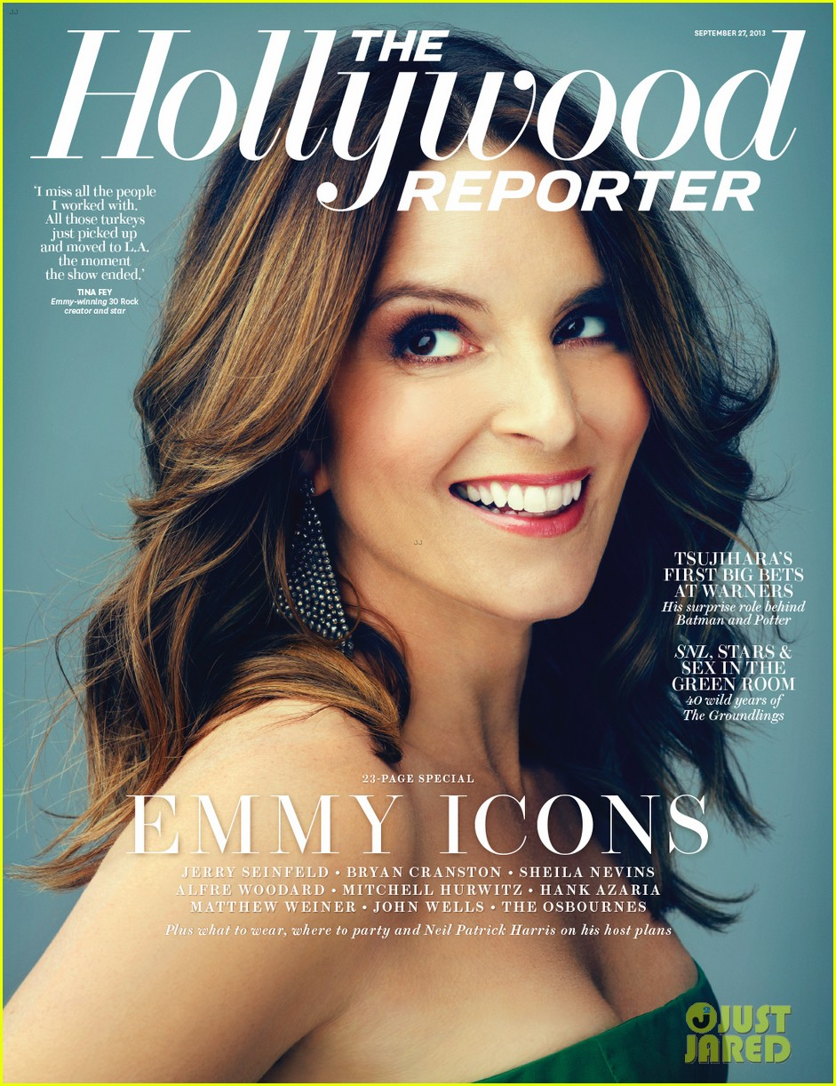 tina fey covers the hollywood reporter emmy icons issue 012954929