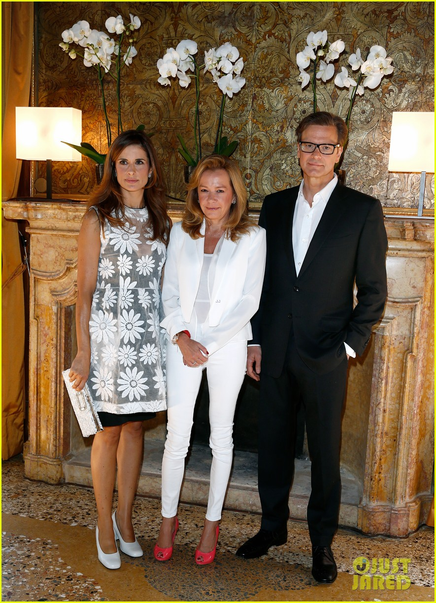 colin firth chopard photo call with livia giuggioli 022943451