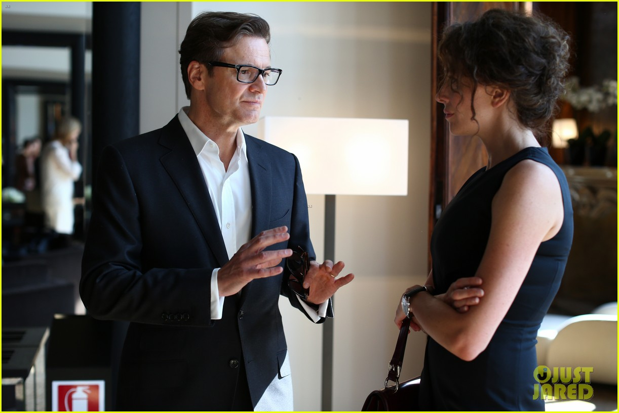 colin firth chopard photo call with livia giuggioli 062943455