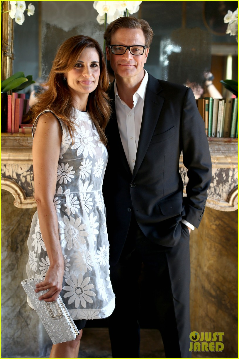 colin firth chopard photo call with livia giuggioli 11