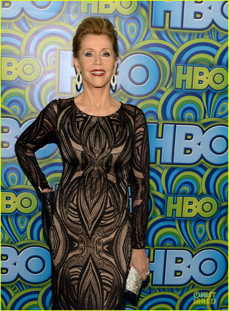 jane fonda marcia gay harden hbo emmys after party 2013 092958742