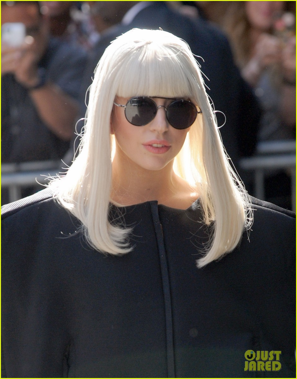 lady gaga serena williams exit good morning america studio 042948250
