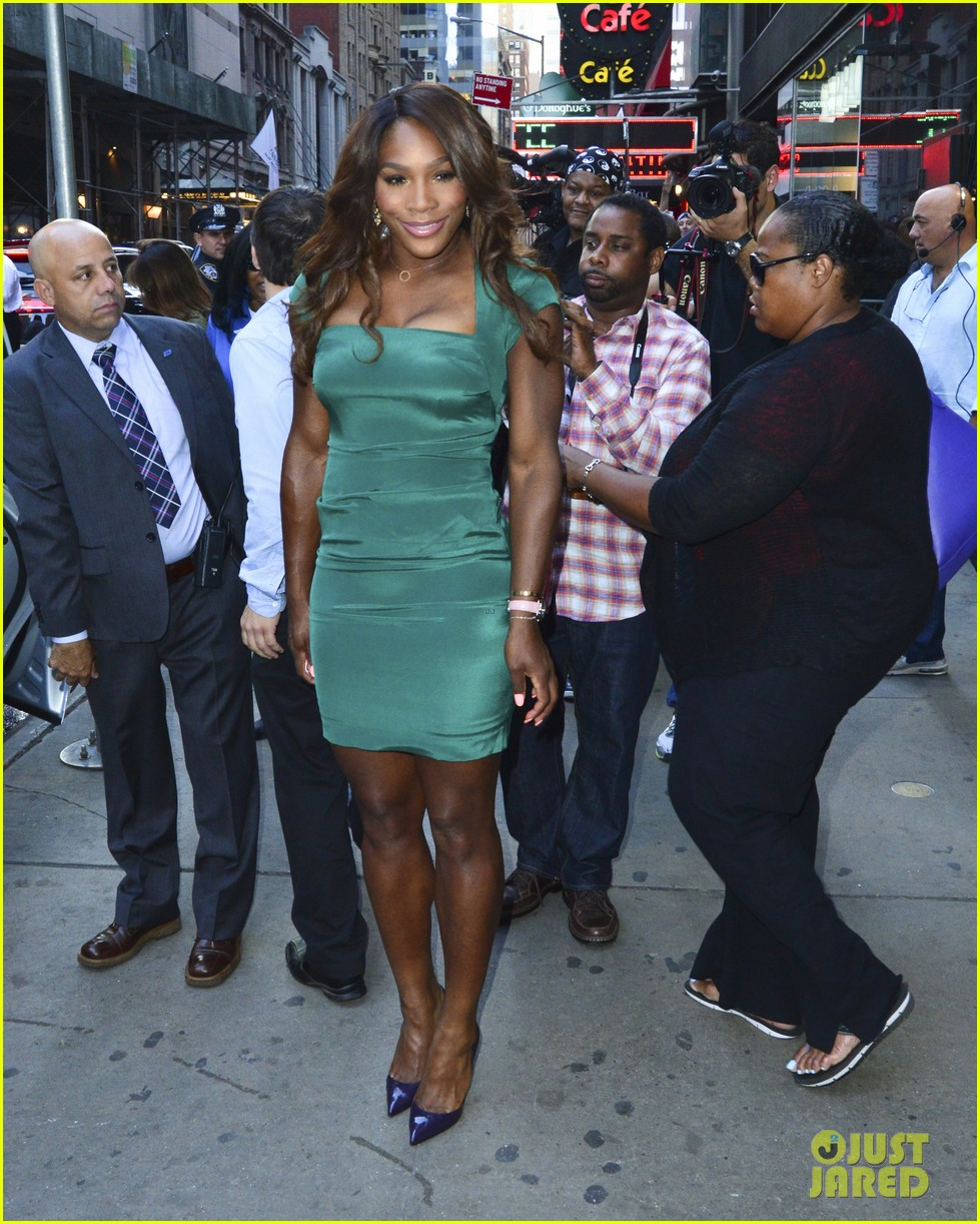 lady gaga serena williams exit good morning america studio 052948251
