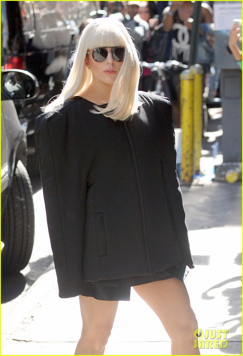 lady gaga serena williams exit good morning america studio 13