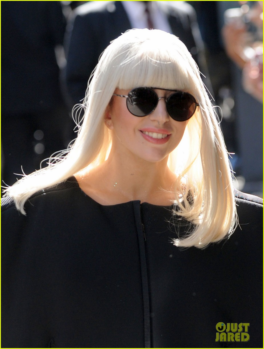 lady gaga serena williams exit good morning america studio 172948263
