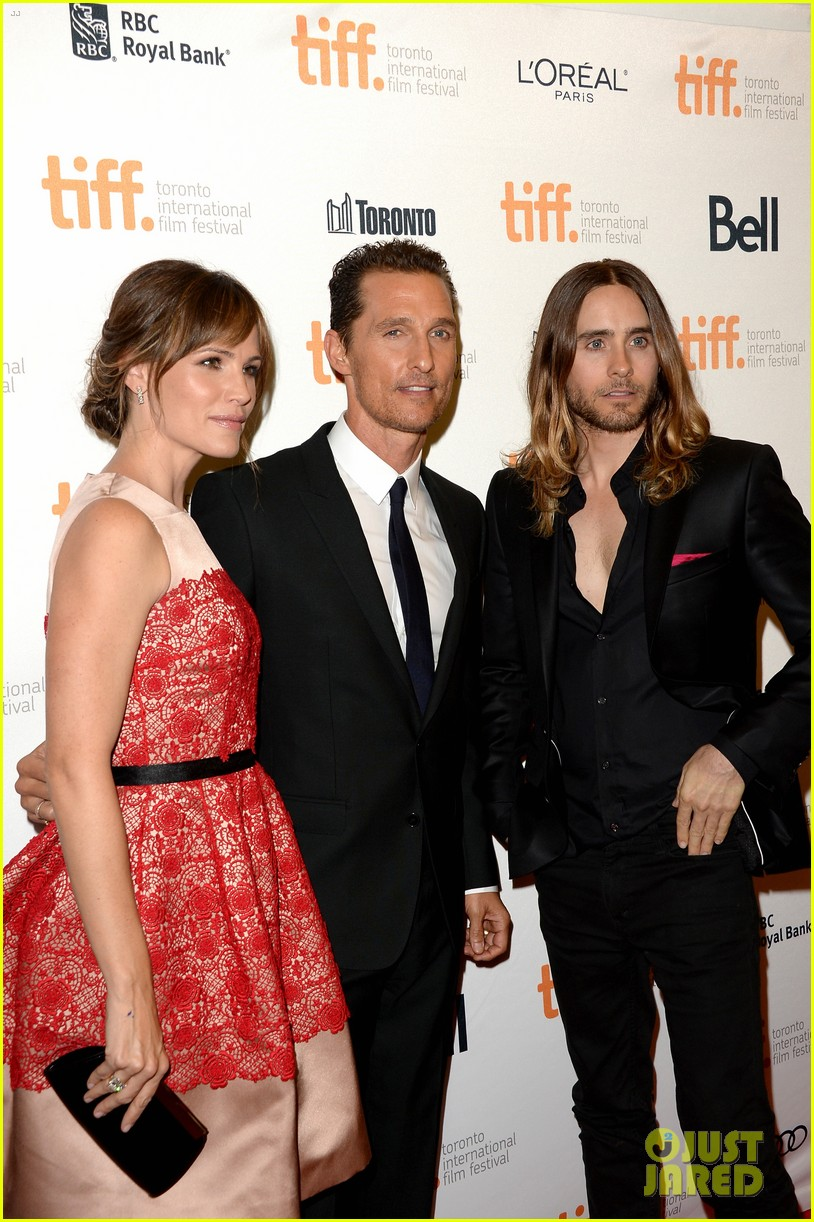 jennifer garner matthew mcconaughey dallas buyers club tiff premiere 232946479