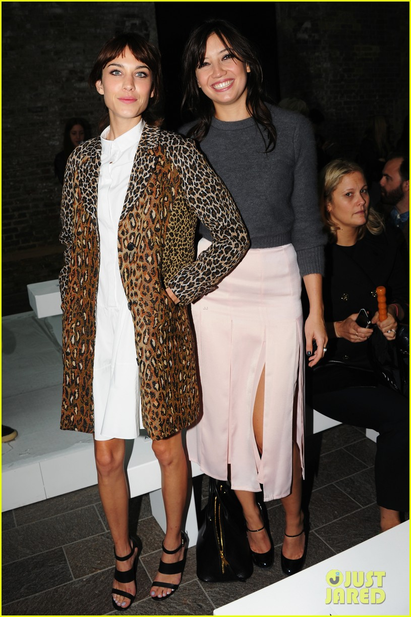 ellie goulding alexa chung british vogue lfw dinner 012953221