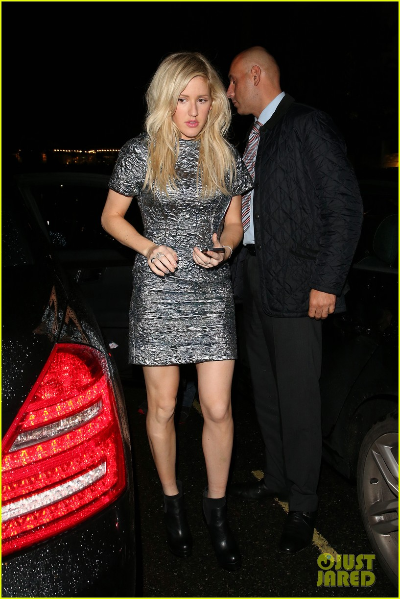 ellie goulding alexa chung british vogue lfw dinner 052953225