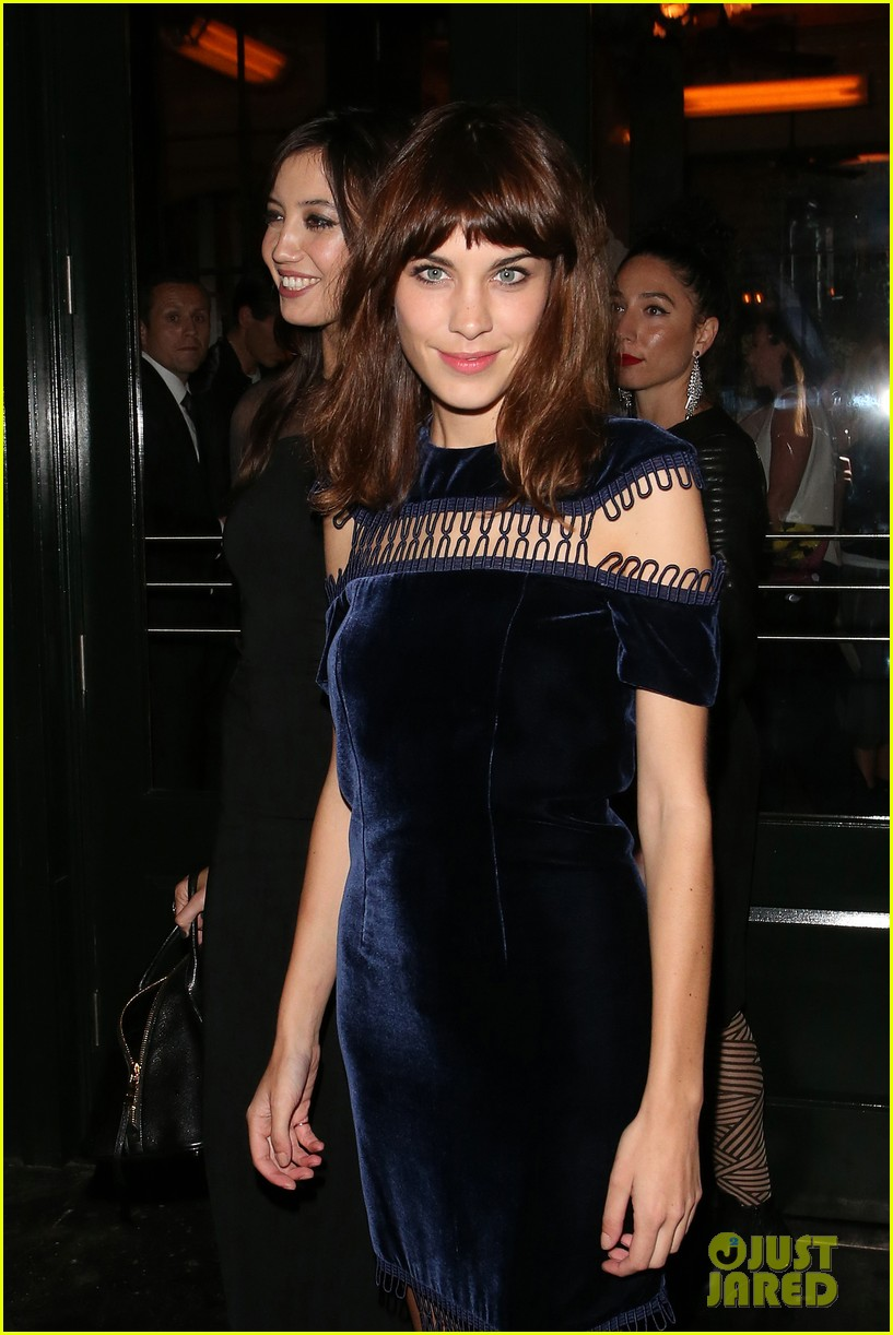 ellie goulding alexa chung british vogue lfw dinner 092953229