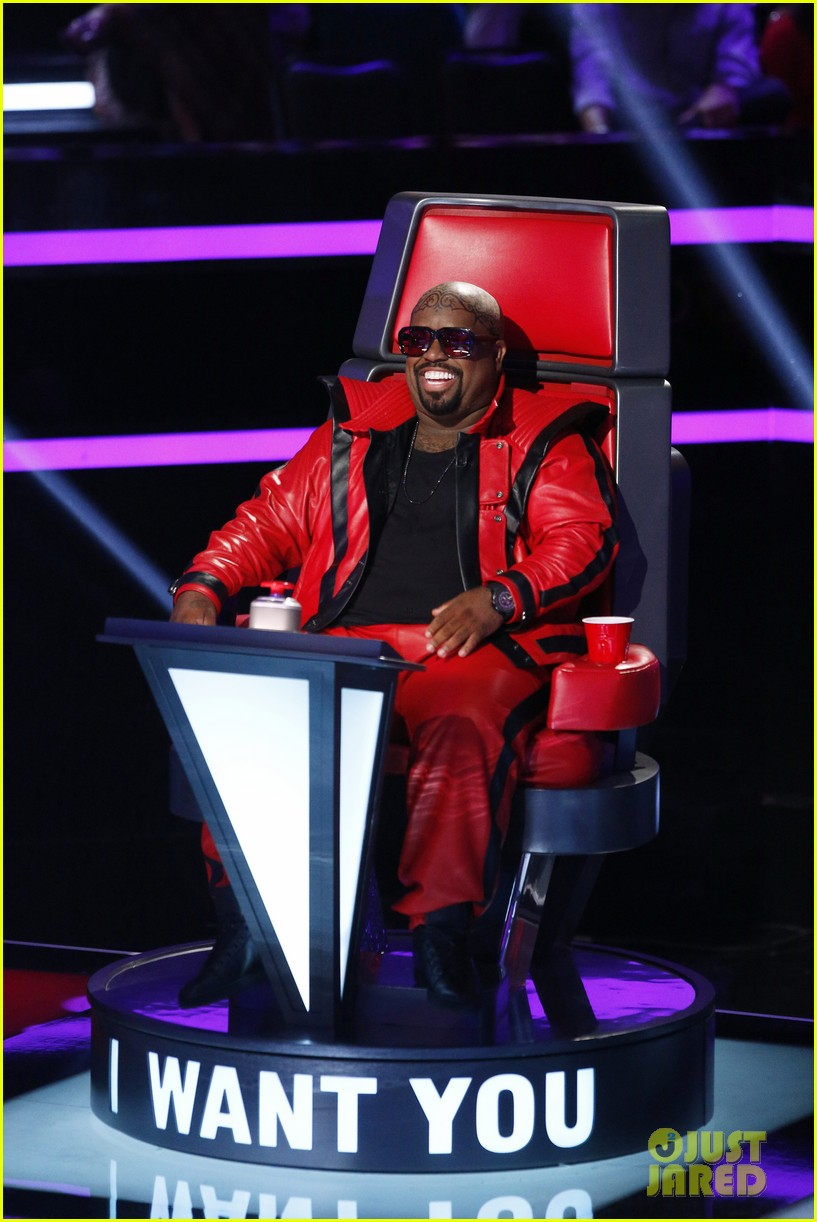 cee lo green head tattoo on the voice see the ink 022958898