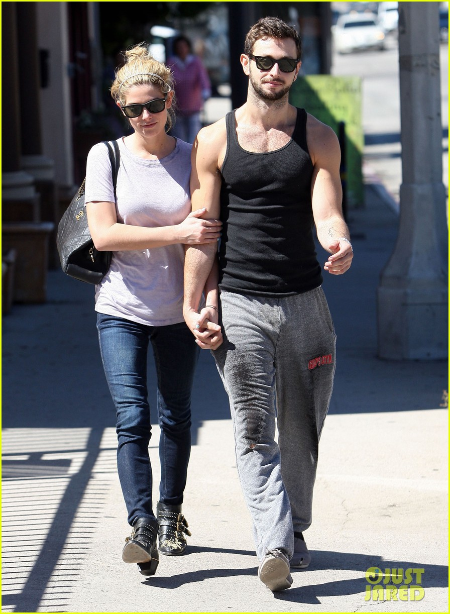 ashley greene holds hands with mystery man 012963069