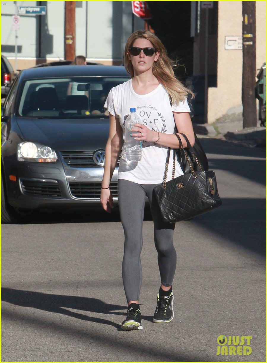 ashley greene holds hands with mystery man 132963081