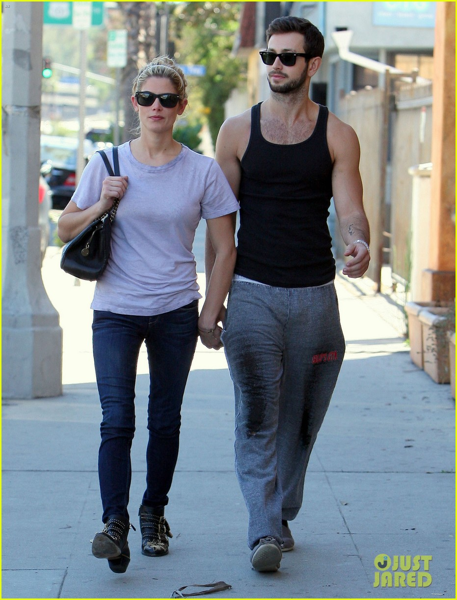 ashley greene holds hands with mystery man 202963088
