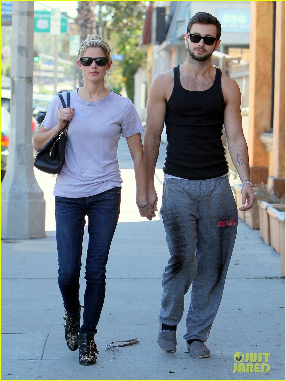 ashley greene holds hands with mystery man 212963089