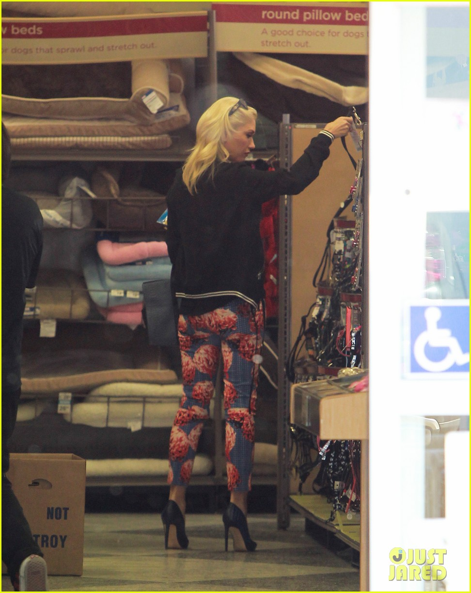 gwen stefani shows off tiny baby bump 142960641