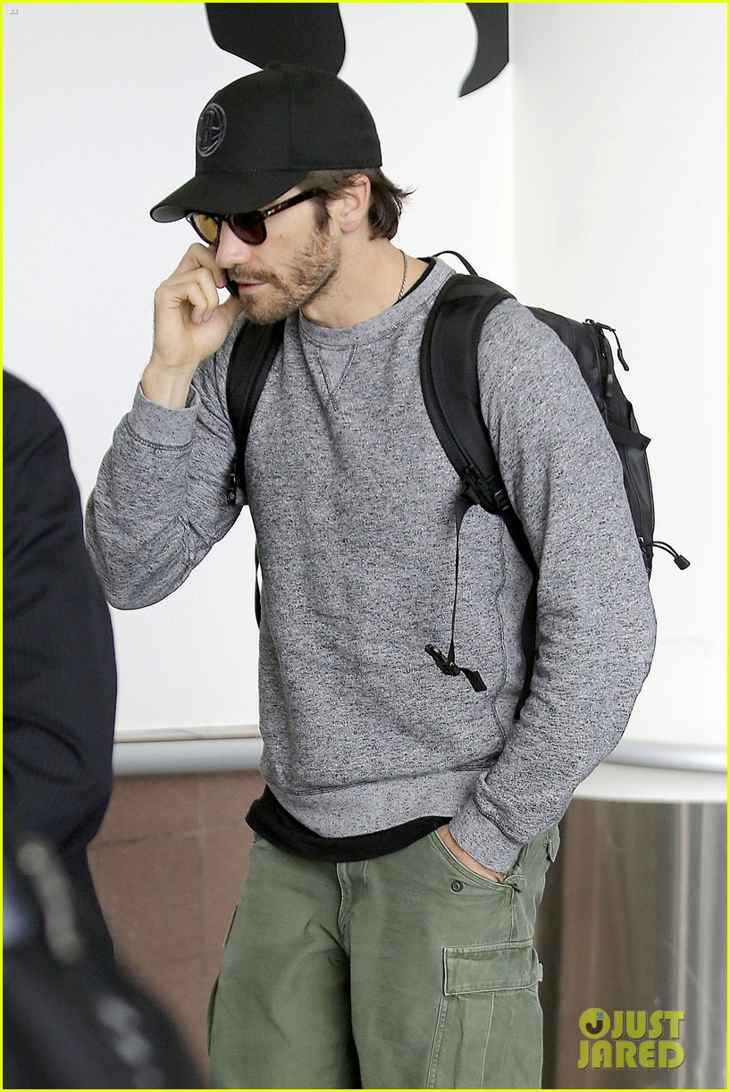 jake gyllenhaal james franco land in los angeles after tiff 182948343