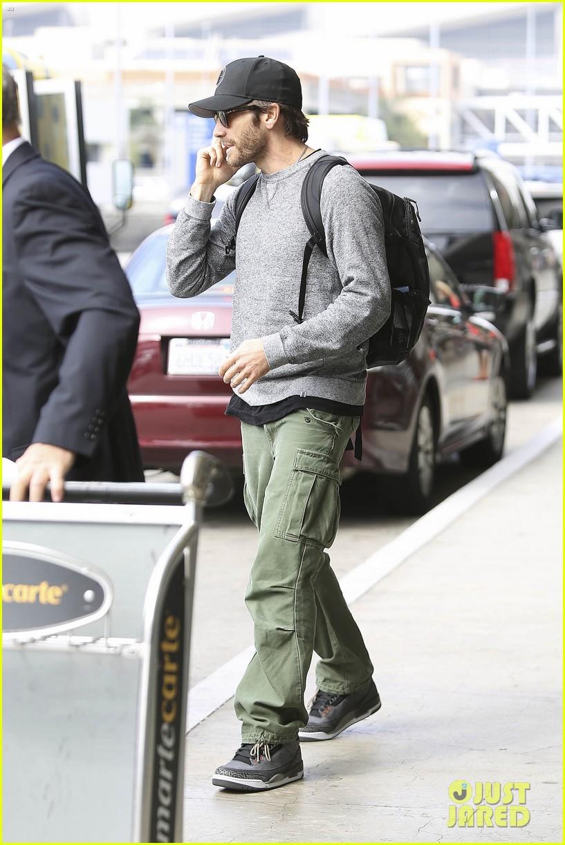 jake gyllenhaal james franco land in los angeles after tiff 252948350