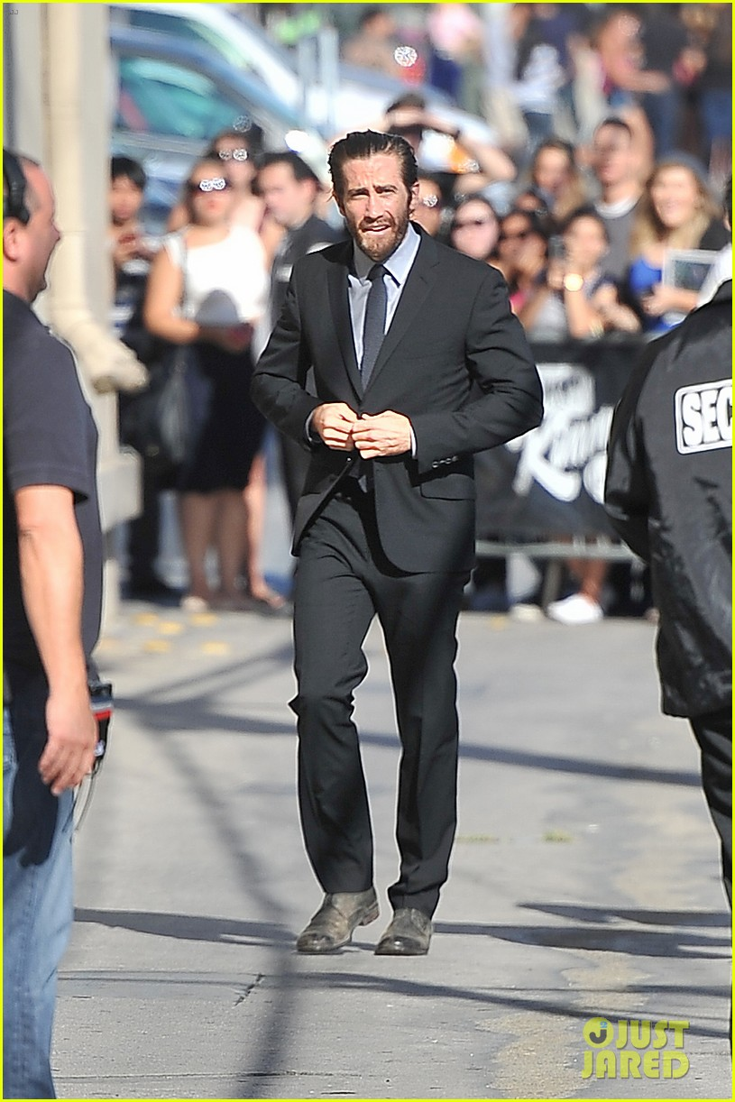 jake gyllenhaal dianna agron jimmy kimmel guests 052951053