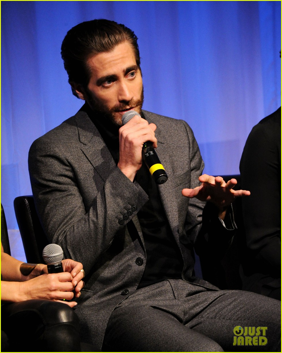 jake gyllenhaal hugh jackman prisoners ampas screening 20