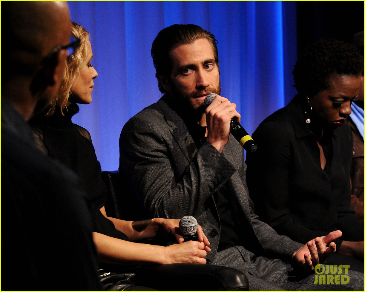 jake gyllenhaal hugh jackman prisoners ampas screening 222955897