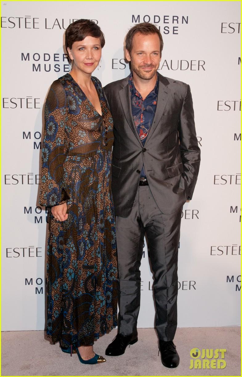 maggie gyllenhaal michelle dockery estee lauder launch 032951211