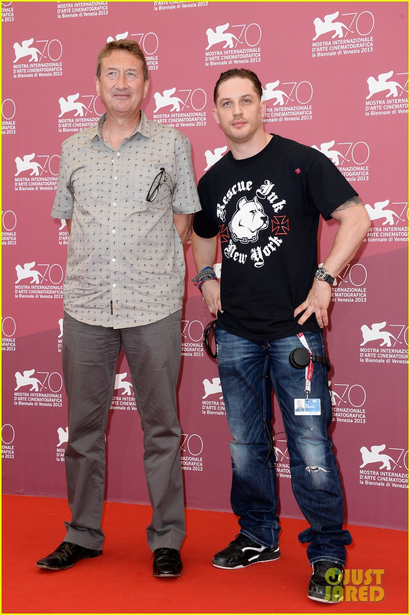 tom hardy locke photo call at venice film festival 04