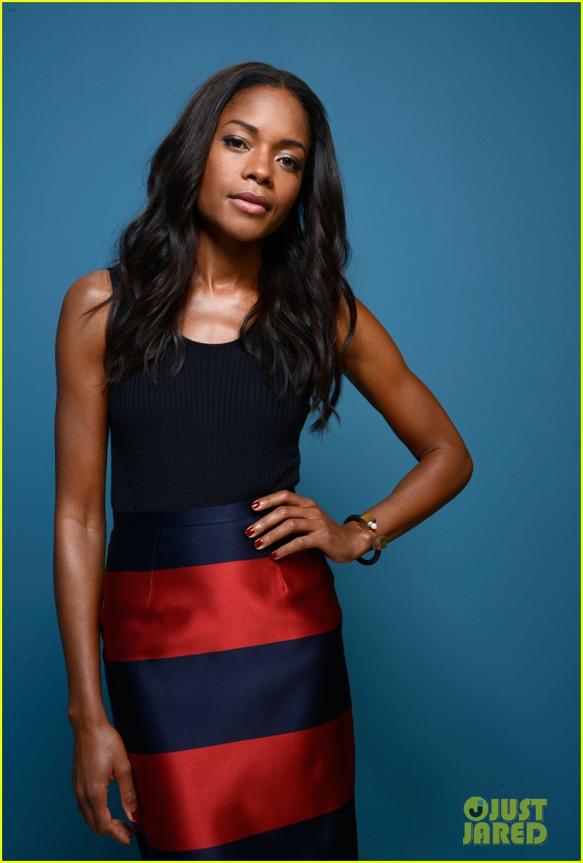 naomie harris idris elba mandela tiff press conference 152946998