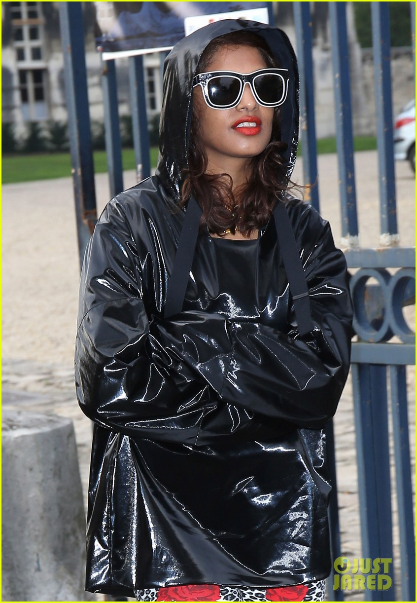 salma hayek balenciaga paris fashion show 142960561