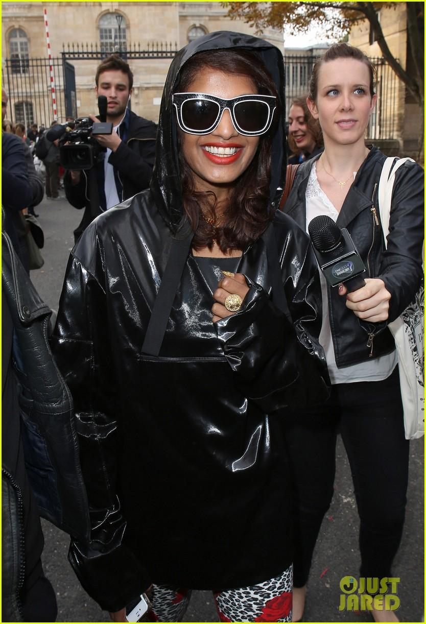 salma hayek balenciaga paris fashion show 152960562